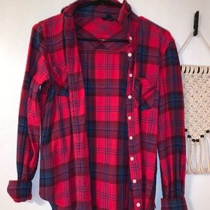 button up flannel